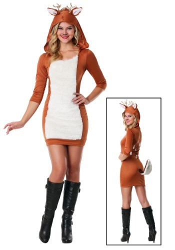 Plus Size Sexy Deer Costume