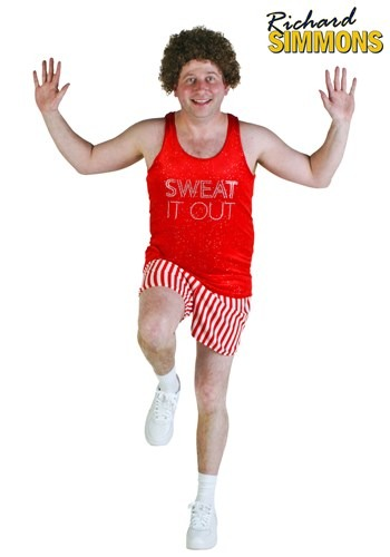 Click Here to buy Richard Simmons Plus Size Costume from HalloweenCostumes, CDN Funds & Shipping