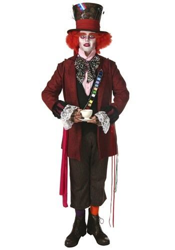 Click Here to buy Plus Size Authentic Mad Hatter Costume from HalloweenCostumes, CDN Funds & Shipping