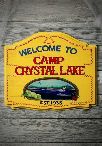 Camp Crystal Lake Sign