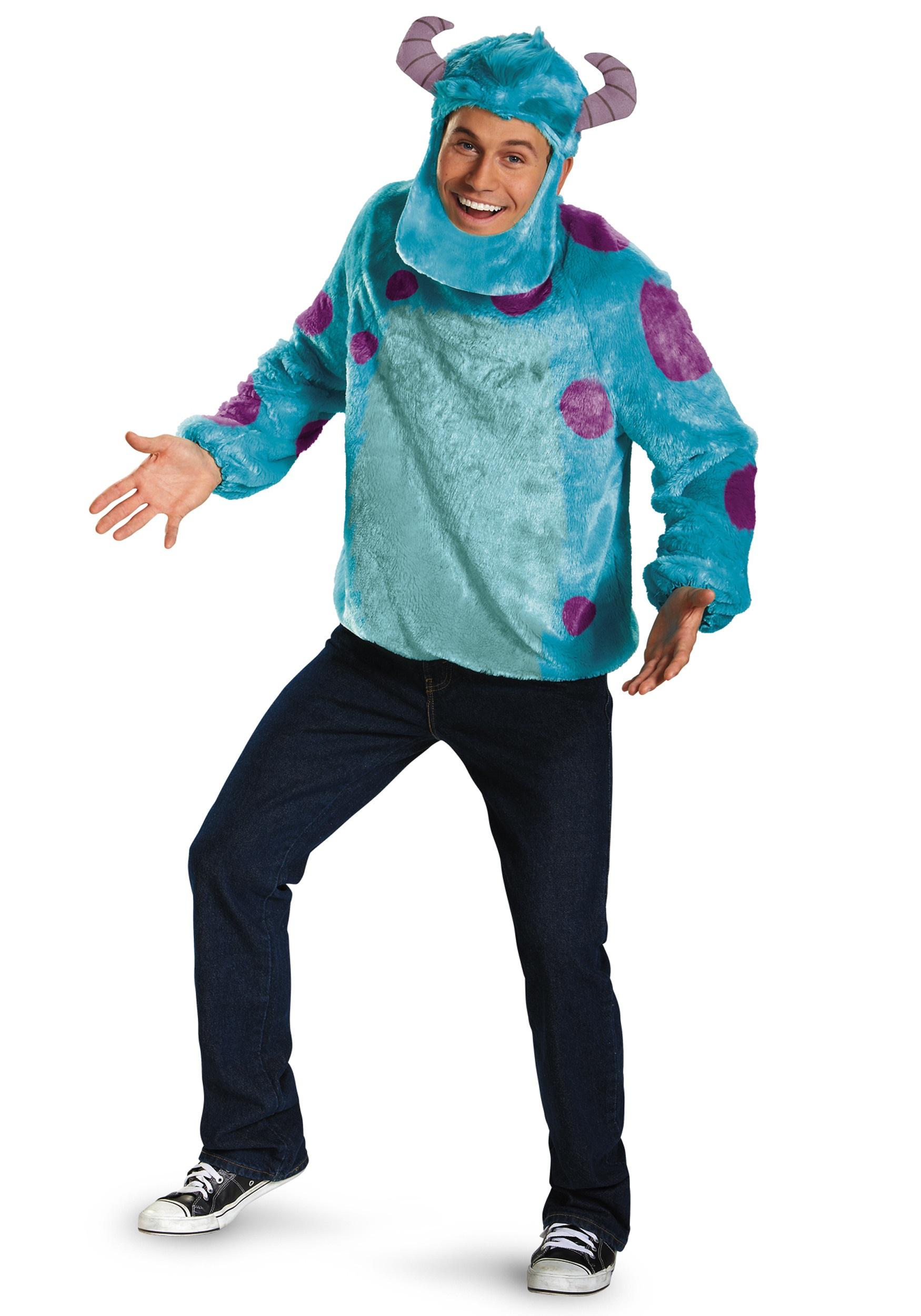 79dba9b2a9da Monsters Inc Plus Size Deluxe Sulley Costume