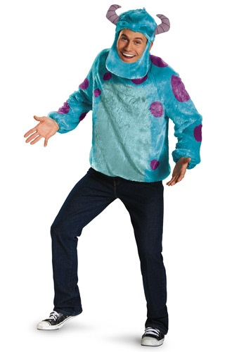 Click Here to buy Monsters Inc Plus Size Deluxe Sulley Costume from HalloweenCostumes, CDN Funds & Shipping
