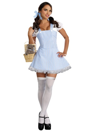 Click Here to buy Blue Gingham Dress Costume | Sexy Country Dress | Sexy Costume from HalloweenCostumes, CDN Funds & Shipping