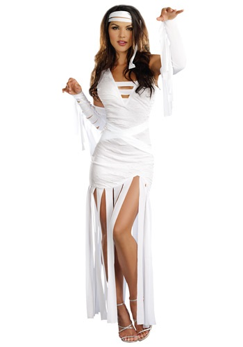 Click Here to buy Womens Mummy Dearest Costume from HalloweenCostumes, CDN Funds & Shipping
