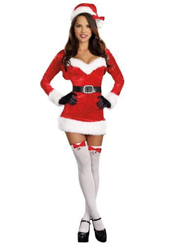 Click Here to buy Sexy Santa Baby Costume from HalloweenCostumes, CDN Funds & Shipping