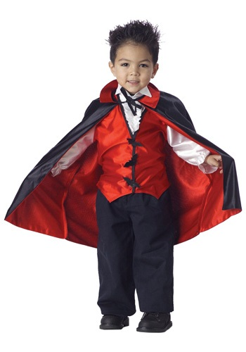 Click Here to buy Toddler Vampire Costume from HalloweenCostumes, CDN Funds & Shipping