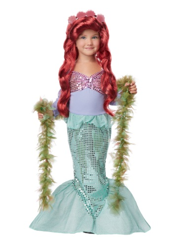 Click Here to buy Toddler Mermaid Costume from HalloweenCostumes, CDN Funds & Shipping