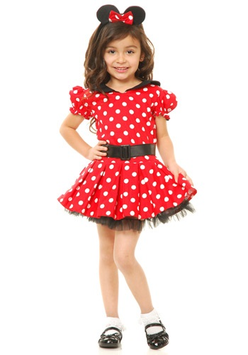 Click Here to buy Toddler Miss Mouse Costume from HalloweenCostumes, CDN Funds & Shipping