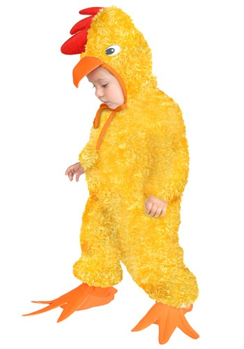 Yellow Rooster Kids Costume