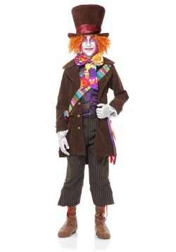 Boys Electric Mad Hatter Costume