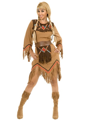 Womens Sacajawea Maiden Costume