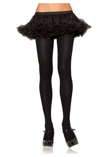 Click Here to buy Plus Size Black Tights from HalloweenCostumes, CDN Funds & Shipping