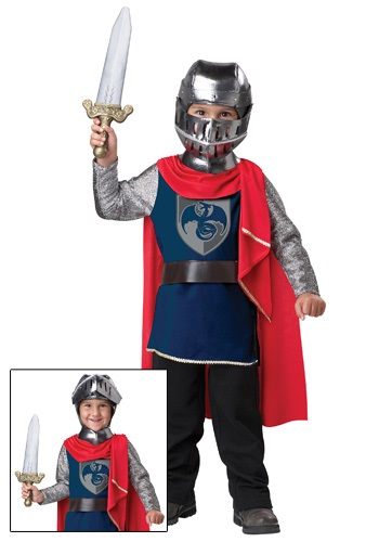 Click Here to buy Toddler Knight Costume from HalloweenCostumes, CDN Funds & Shipping