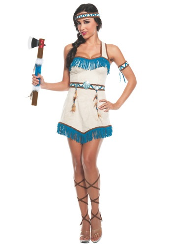 Womens Native Princess Costume