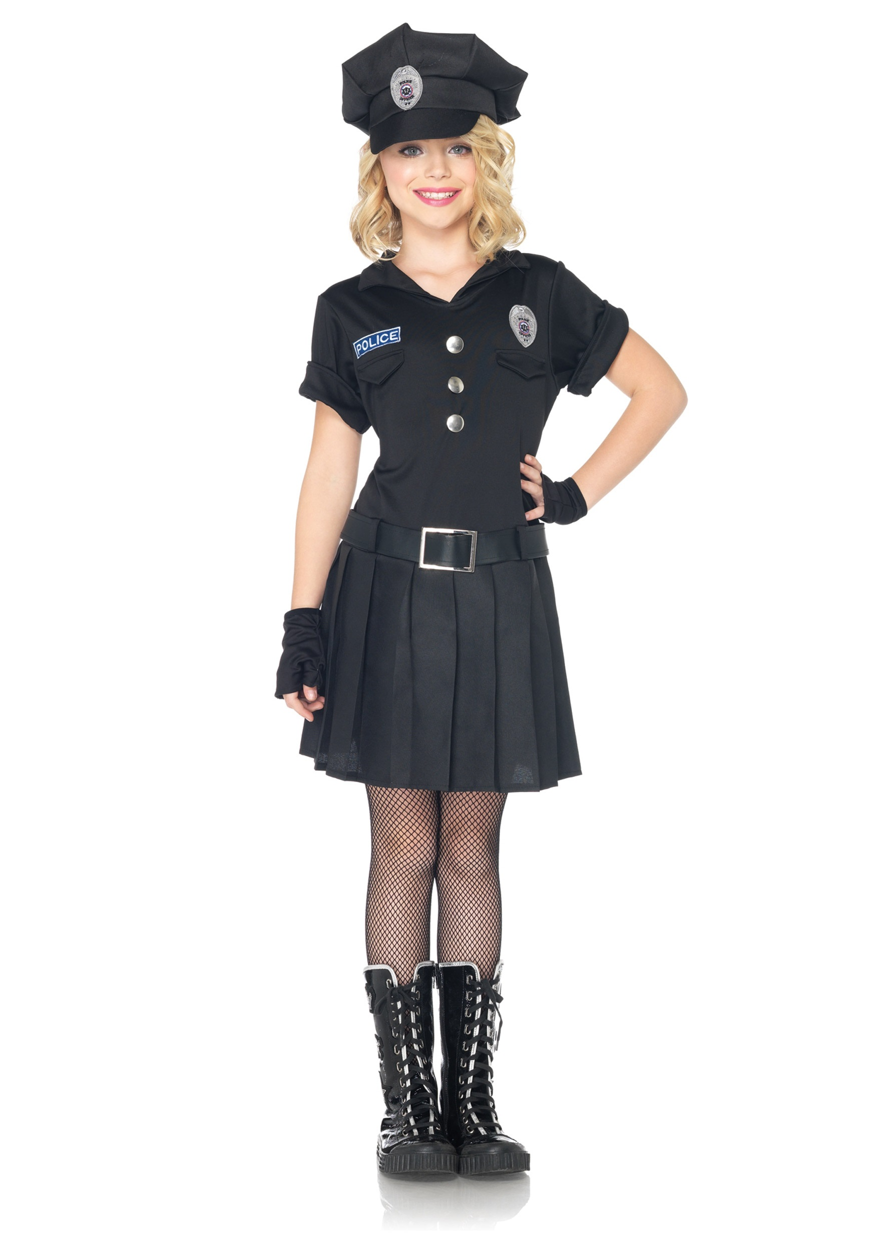 INOpets.com Anything for Pets Parents & Their Pets Girls Playtime Police Costume
