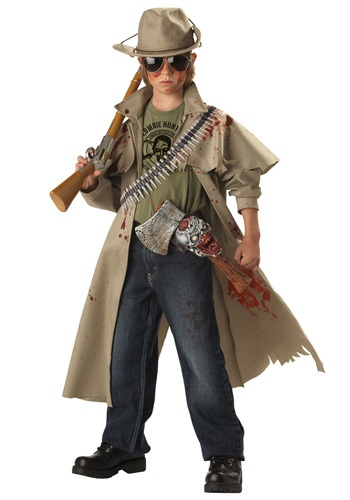 Click Here to buy Kids Zombie Hunter Costume | Boys Hunter Costume from HalloweenCostumes, CDN Funds & Shipping