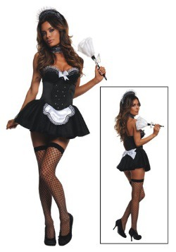 Women's Seductive Maid Costume
