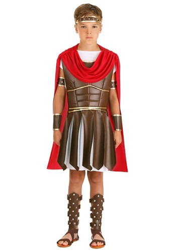 Click Here to buy Kids Hercules Costume - Kids Roman Warrior Costumes from HalloweenCostumes, CDN Funds & Shipping