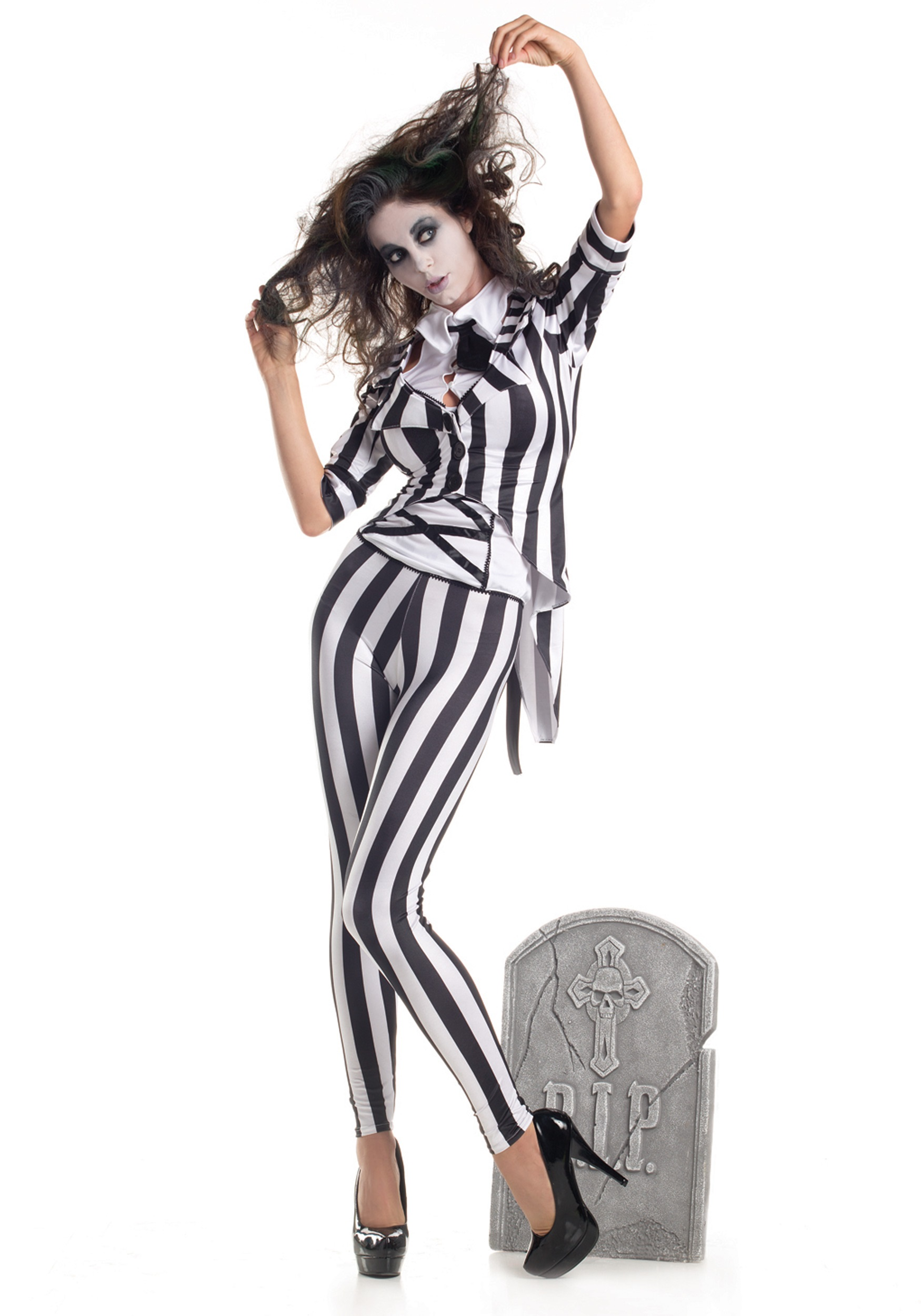 INOpets.com Anything for Pets Parents & Their Pets Adult Graveyard Ghost Costume