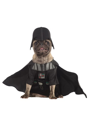 Click Here to buy Darth Vader Pet Costume from HalloweenCostumes, CDN Funds & Shipping