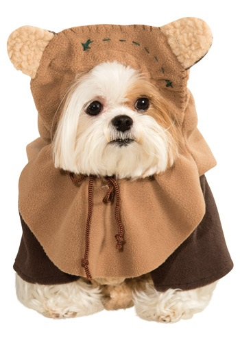 Click Here to buy Ewok Pet Costume from HalloweenCostumes, CDN Funds & Shipping