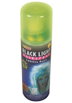 Glow in the Dark Hairspray