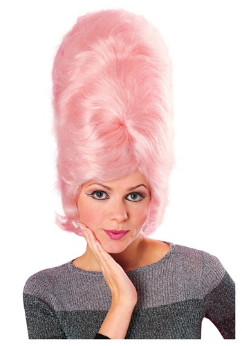Click Here to buy Pink Beehive Wig from HalloweenCostumes, CDN Funds & Shipping