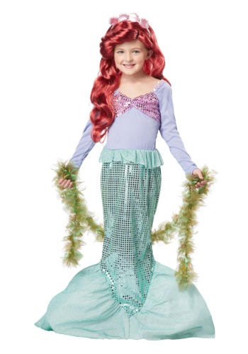 Click Here to buy Kids Mermaid Costume from HalloweenCostumes, CDN Funds & Shipping