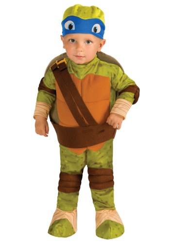 Click Here to buy Toddler TMNT Leonardo Costume from HalloweenCostumes, CDN Funds & Shipping
