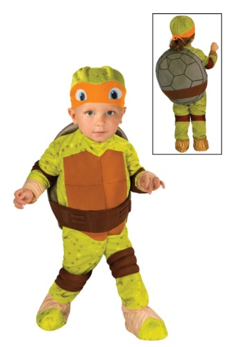 Toddler TMNT Michelangelo Costume