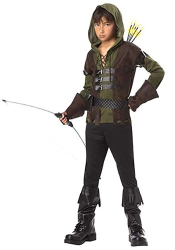 Click Here to buy Kids Robin Hood Costume from HalloweenCostumes, CDN Funds & Shipping