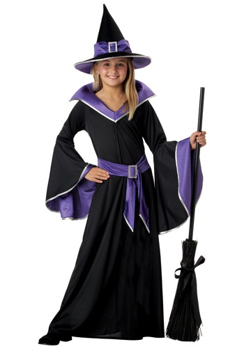 Child Glamour Witch Costume