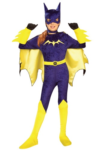 Click Here to buy Kids Batgirl Costume from HalloweenCostumes, CDN Funds & Shipping