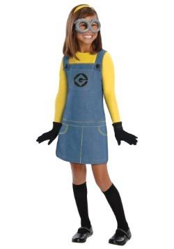 Child Girls Minion Costume