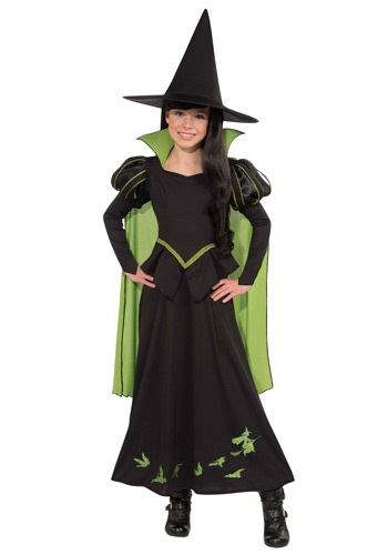 Click Here to buy Kids Wicked Witch of the West Costume from HalloweenCostumes, CDN Funds & Shipping