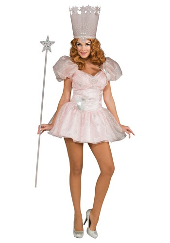 Click Here to buy Adult Sexy Glinda the Good Witch Costume from HalloweenCostumes, CDN Funds & Shipping