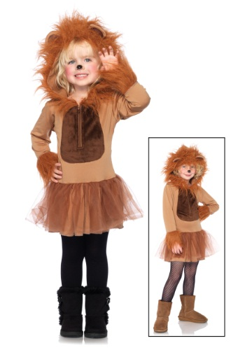 Click Here to buy Kids Cuddly Lion Costume from HalloweenCostumes, CDN Funds & Shipping