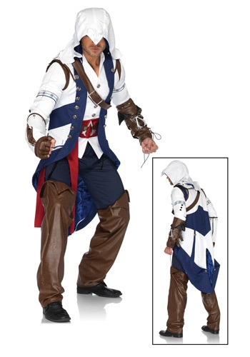 Click Here to buy Assassins Creed Connor Costume from HalloweenCostumes, CDN Funds & Shipping