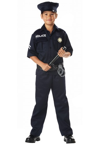 Click Here to buy Kids Police Costume from HalloweenCostumes, CDN Funds & Shipping