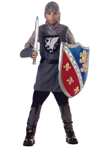 Click Here to buy Kids Valiant Knight Costume from HalloweenCostumes, CDN Funds & Shipping