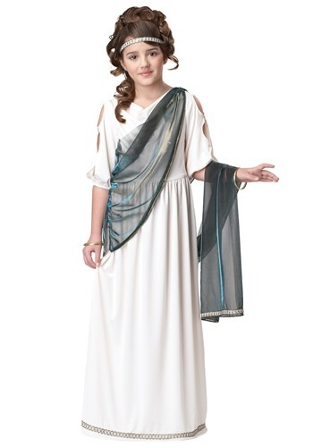Girls Roman Princess Costume