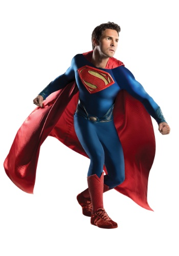 Click Here to buy Superman Grand Heritage Costume from HalloweenCostumes, CDN Funds & Shipping