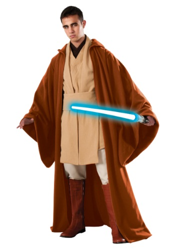 Click Here to buy Adult Grand Heritage Obi Wan Kenobi Costume from HalloweenCostumes, CDN Funds & Shipping