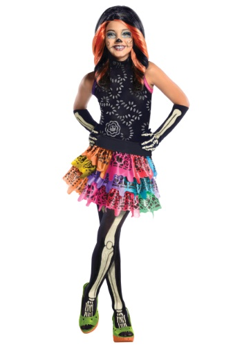 Monster High Skelita Calaveras Child Costume