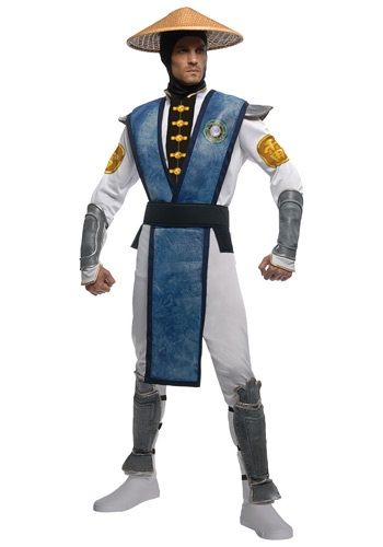 Click Here to buy Mortal Kombat Deluxe Raiden Costume from HalloweenCostumes, CDN Funds & Shipping