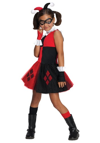Click Here to buy Girls Harley Quinn Tutu Costume from HalloweenCostumes, CDN Funds & Shipping
