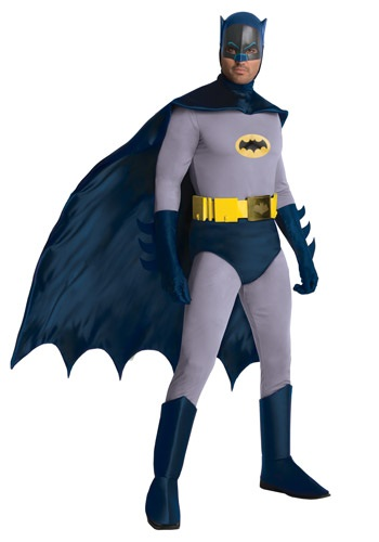Click Here to buy Batman Classic Series Grand Heritage Costume from HalloweenCostumes, CDN Funds & Shipping