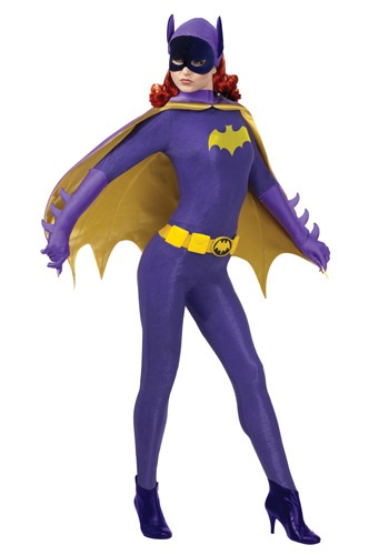 Click Here to buy Batgirl Classic Series Grand Heritage Costume from HalloweenCostumes, CDN Funds & Shipping