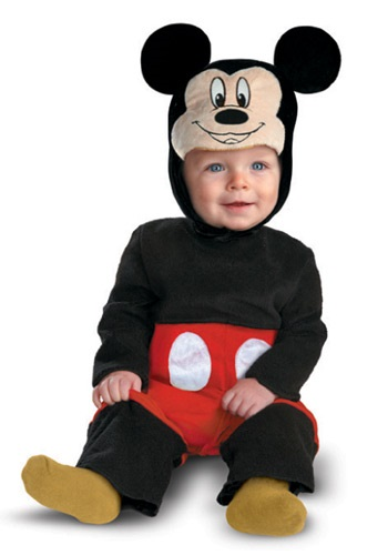 Click Here to buy Baby Mickey Mouse My First Disney Costume from HalloweenCostumes, CDN Funds & Shipping