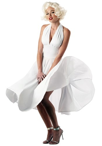 Click Here to buy Marilyn Monroe Costume Dress | Sexy White Costume Dress from HalloweenCostumes, CDN Funds & Shipping